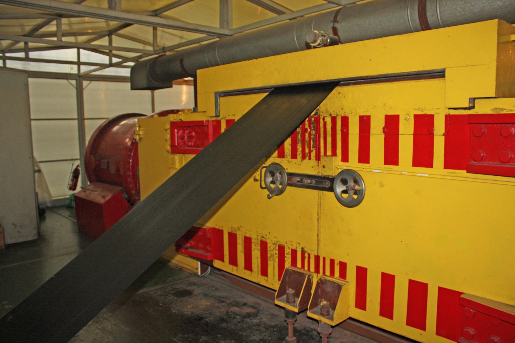 Установка для производства покрытий трубопроводов на предприятии «ИПМ», г. Санкт-Петербург, с ускорителем «Электрон-10»