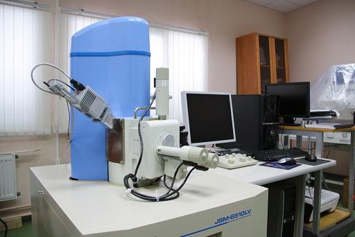 Scanning electron microscope JEOL JSM-6510LV.