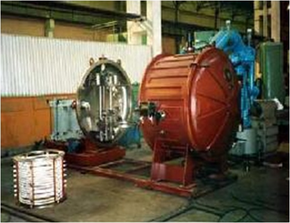 Vacuum furnace for casting with bottom casting mold («Electromekhanica», Rzhev)