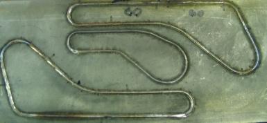Рис. 6 Образцы сварки криволинейных швов