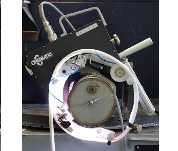 Рис. 2 Сварка труб сварочной головкой Orbiweld TP 600M